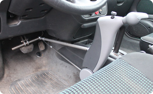 Test du combin acc l rateur frein classic par handynamic - Se couper le frein du gland soit meme ...