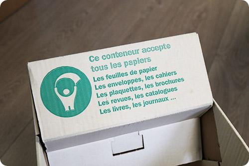Le recyclage du papier chez Handynamic...