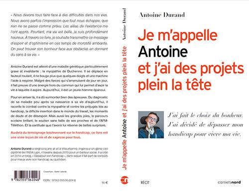 Antoine Durand, un blogueur et écrivain motivé et motivant