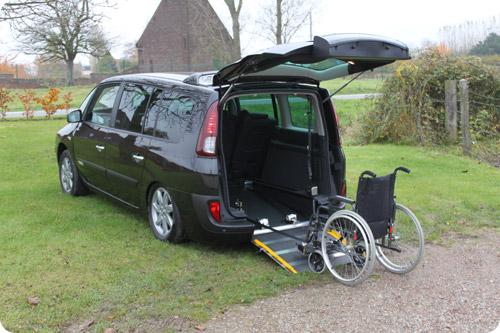 Le Renault Espace handicap AirSystem est le plus confortable de sa catégorie