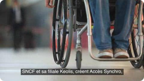 Le nouveau service Accès Synchro de la SNCF
