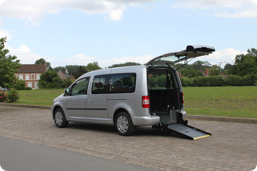 Le Volkswagen Caddy Maxi HappyAccess TPMR