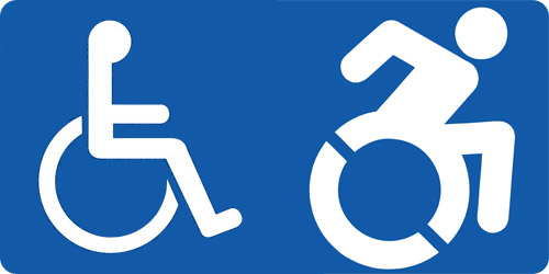 Le nouveau pictogramme handicap dynamique