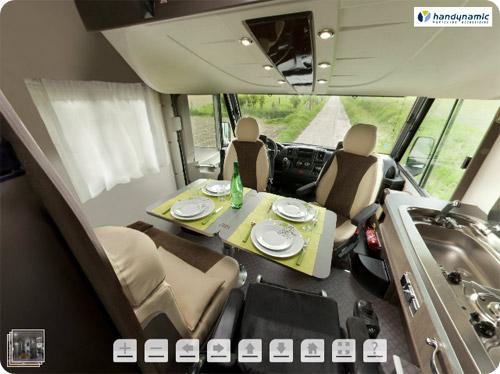 Visitez notre camping-car en 360°