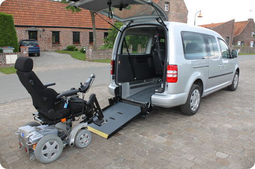 Le Volkswagen Caddy Maxi HappyAccess by Handynamic