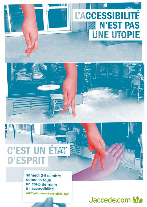 L'affiche de la Journée de l'Accessibilité 2013