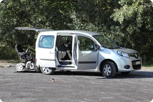 Le nouveau Renault Kangoo aménagé handicap