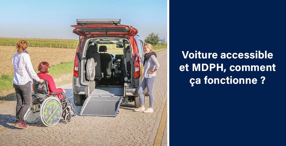 Voiture Accessible Et Mdph