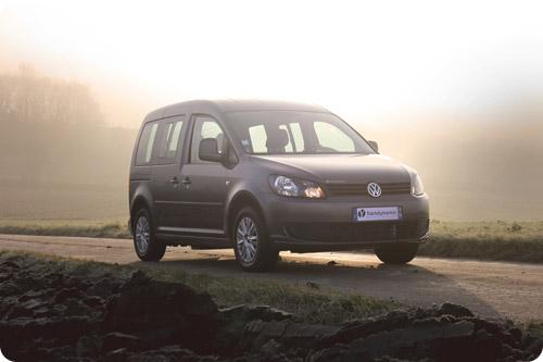 Le nouveau Volkswagen Caddy aménagé handicap