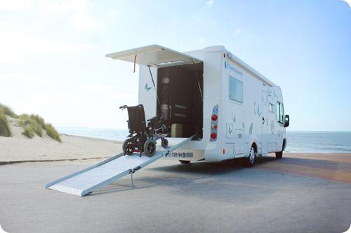 Louez un camping-car accessible chez Handynamic !
