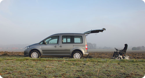 Le Volkswagen Caddy HappyAccess, une des nouveautés de 2013