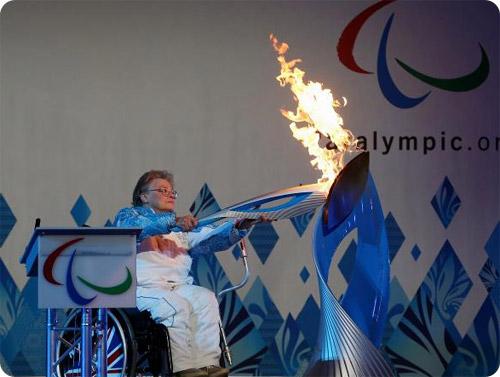 La flamme paralympique s'allume ce soir à Sotchi