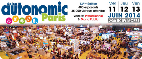 Retrouvez handynamic au salon autonomic paris les 11 12 for Salon autonomic paris