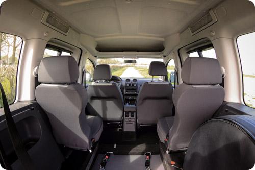 Un intérieur hyper spacieux et accessible