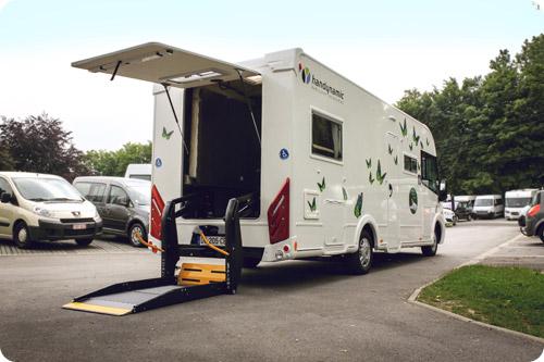 Les nouveaux camping-cars accessibles sont arrivés !