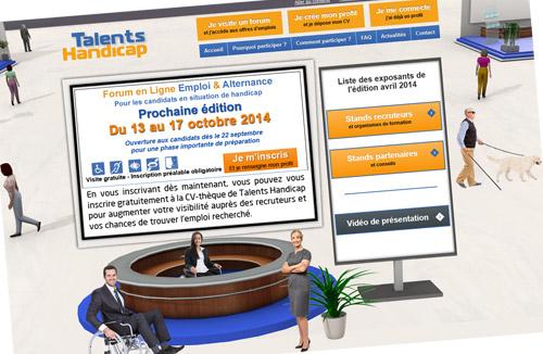 Participez au forum Talents Handicap pour trouver un emploi