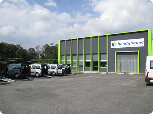 Handynamic à Lourdes, un nouvelle agence en 2014