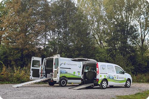 Nos véhicules accessibles de location n'attendent plus que vous !
