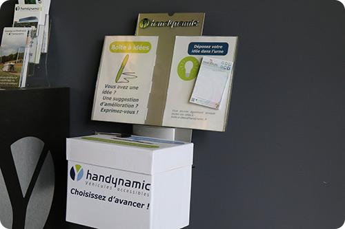 Les boîtes à idées Handynamic !