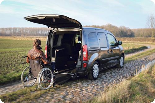 Le Mercedes Citan aménagé handicap en version PremiumAir