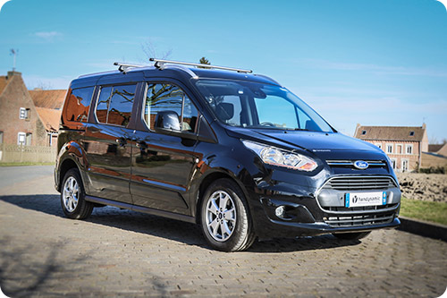 Le Ford Grand Tourneo Connect affiche un style sportif !