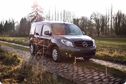 Le Mercedes Citan est la première Mercedes accessible !
