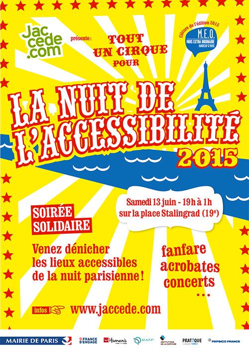 Nuit de l'accessibilité 2015