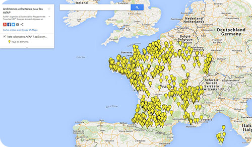 carte_google_architectes_volontaires_ADAP