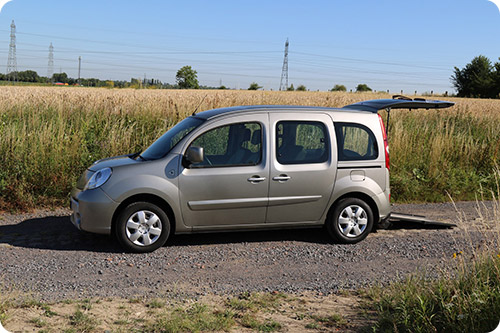 Un Renault Kangoo handicap d'occasion disponible chez Handynamic