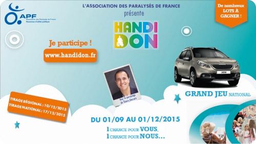 Participez à l'opération Handidon 2015