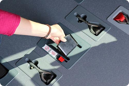 Le système Triflex Easy révolutionne l'arrimage des passagers en fauteuil roulant