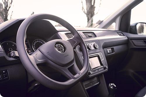 Le nouvel intérieur du Volkswagen Caddy Maxi