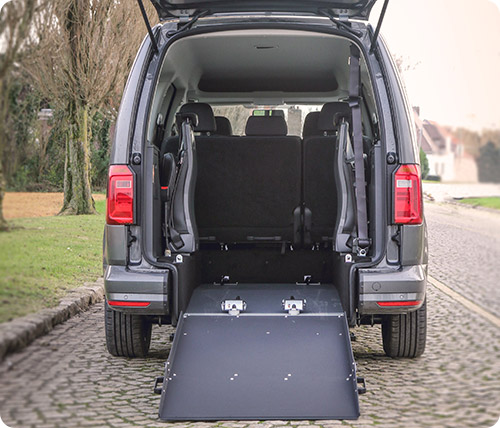 Admirrez l'espace intérieur du Volkswagen Caddy Maxi XL HappyAccess