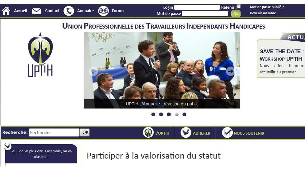 L'UPTIH, Un Coup De Pouce Pour Les Travailleurs Handicapés !