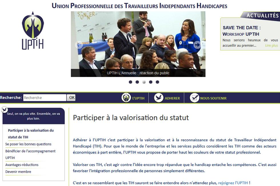 L'UPTIH, une aide pour les travailleurs handicapés !