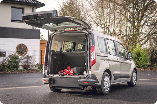 Le Ford Tourneo Connect HappyAccess est hyper modulable !