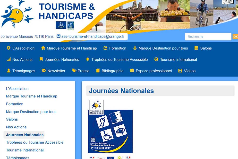 Participez Aux Journées Nationales Tourisme & Handicap Ce Weekend !