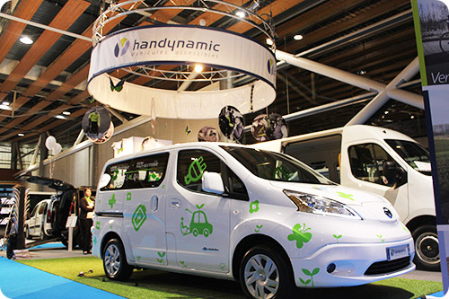 Retrouvez l 39 quipe handynamic au salon autonomic paris 2016 for Salon autonomic paris