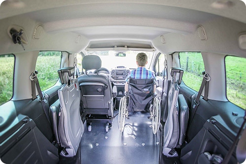 Le Citroën Berlingo FullAccess est accessible à l'avant !