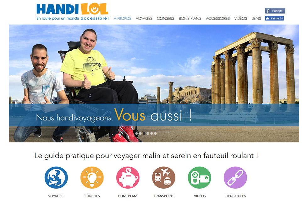Handilol, Parce Que Le Handicap N'empêche Pas De Prendre La Vie Du Bon Côté !