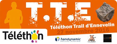 Le Téléthon Trail d'Ennevelin, c'est le 27 novembre !