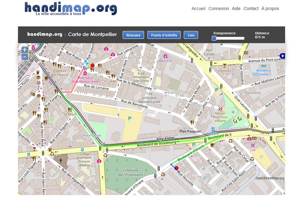 Handimap.org Met Les Données Au Service De L'accessibilité