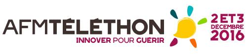 Le logo du Téléthon 2016