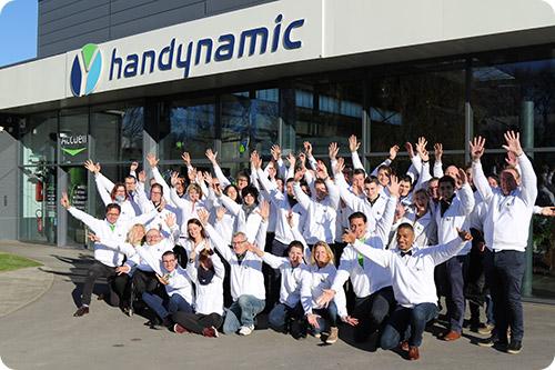 L'équipe Handynamic réunie au grand complet !