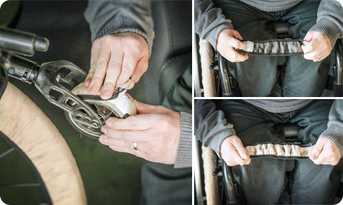 chaussette_protection_roue_avant_fauteuil_roulant