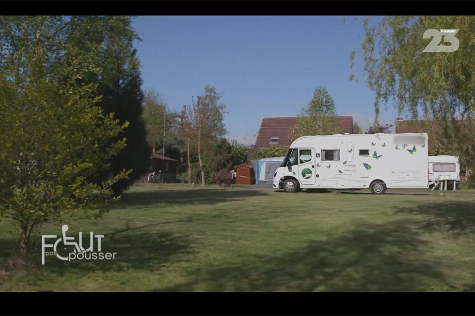 Faut Pas Pousser Teste Notre Camping-car Accessible !