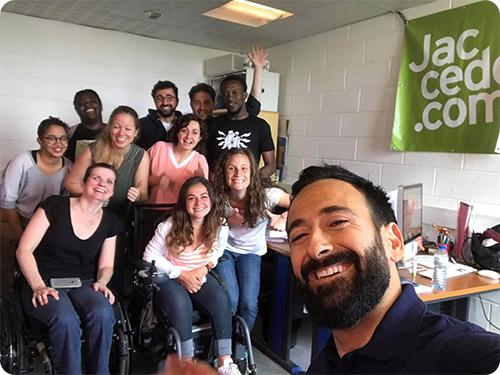 Mickal Jeremiasz est le parrain de la Nuit de l'Accessibilité 2017