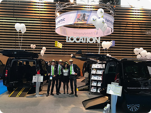 Le stand Handynamic du salon Handica 2017 !