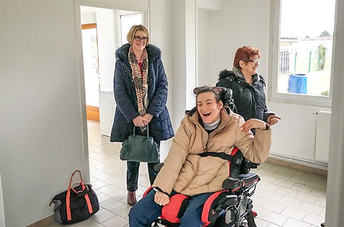 Aide administrative de Push pour Ginette et Sophie