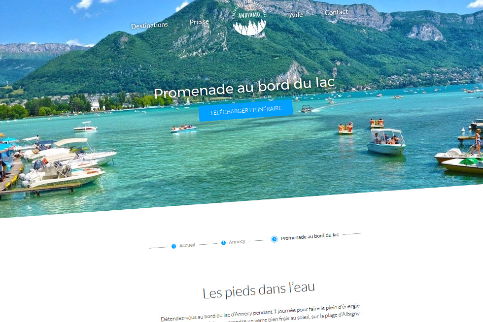 Andyamo Vous Propose Des Itinéraires Touristiques Accessibles !